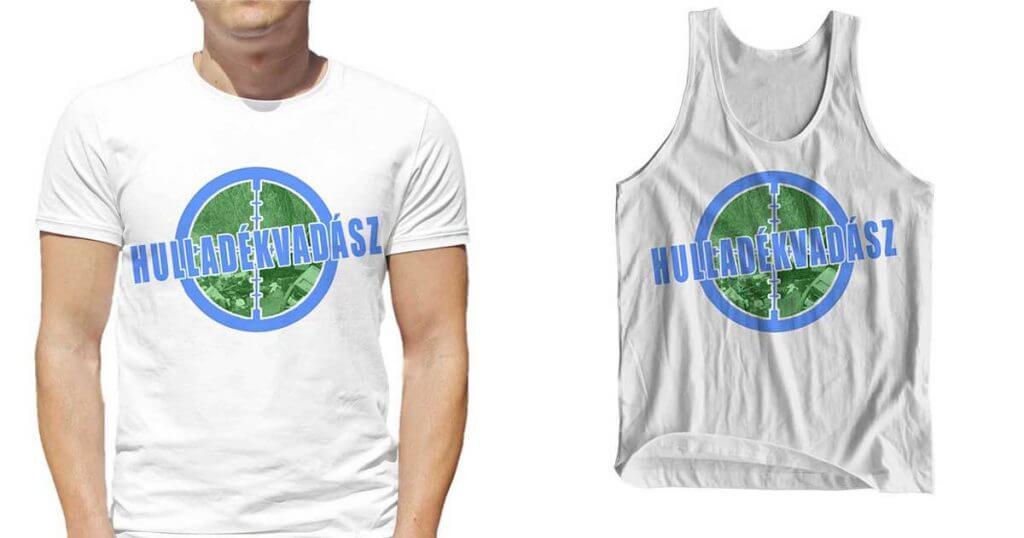 A T-shirts.hu-n az első kizárólag öko-tex alapanyagokból készülő brand, a Hulladékvadász rendelkezik.