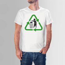 Környezetmérnök póló - újrahasznosítás