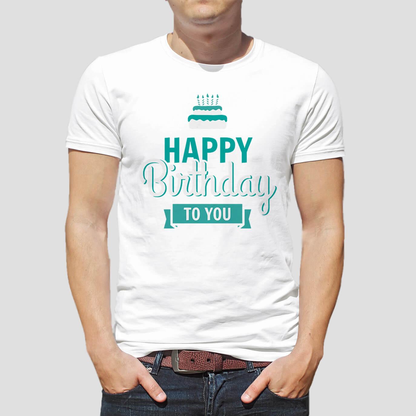 59c692cdc7 Születésnapi póló szereteidnek a legszebb napra a T-shirts.hu-n.