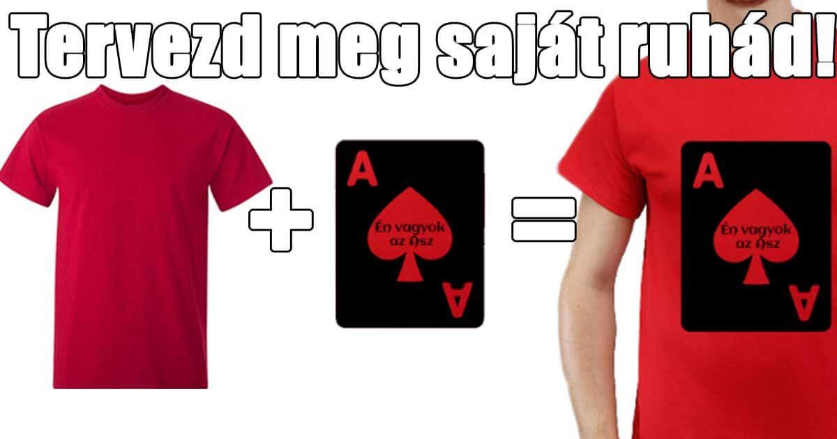 21d2311e3c A pólótervező segítségével tervezd meg magadnak egyedi ruháidat