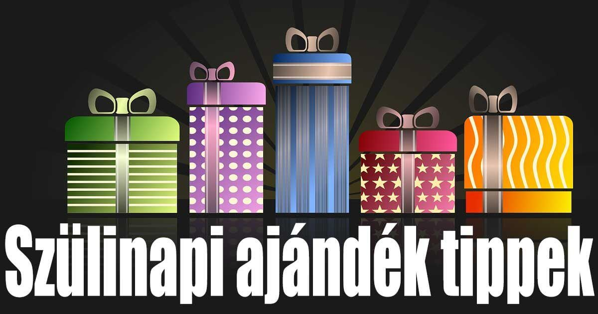 Szülinapi ajándék tippek gyűjteménye a T-shirts.hu webshopjában