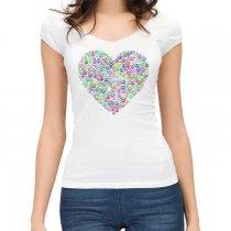Peace and harmony pólóminta a szeretet és a béke szombluma